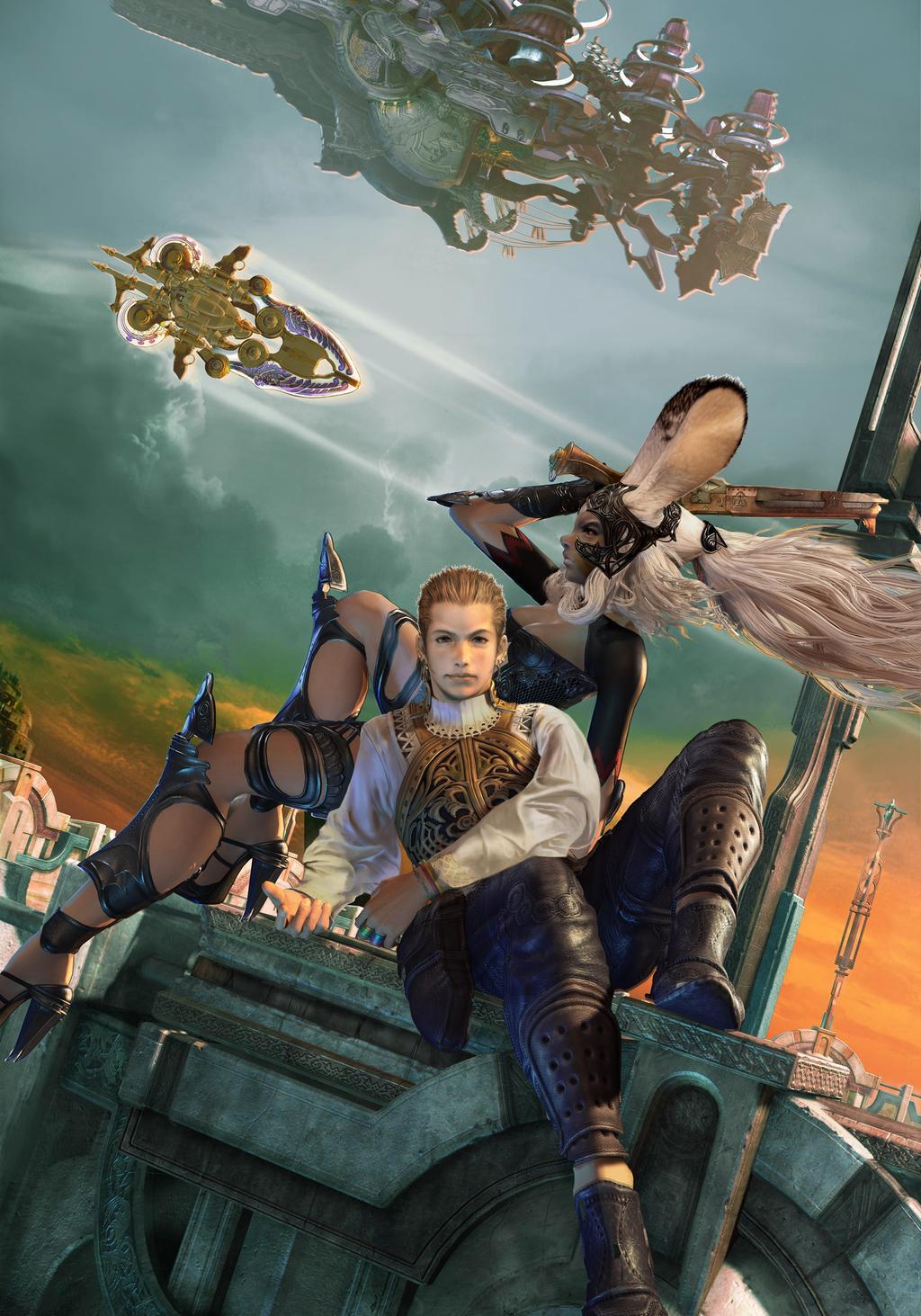 Balthier 巴尔弗雷亚 最终幻想12 Final Fantasy XII FF12 FFSKY天幻网专题站 www.ffsky.cn